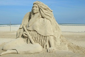 Port Aransas Condos Sand Sculpture