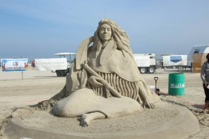 Port Aransas Sandfest Sculpture