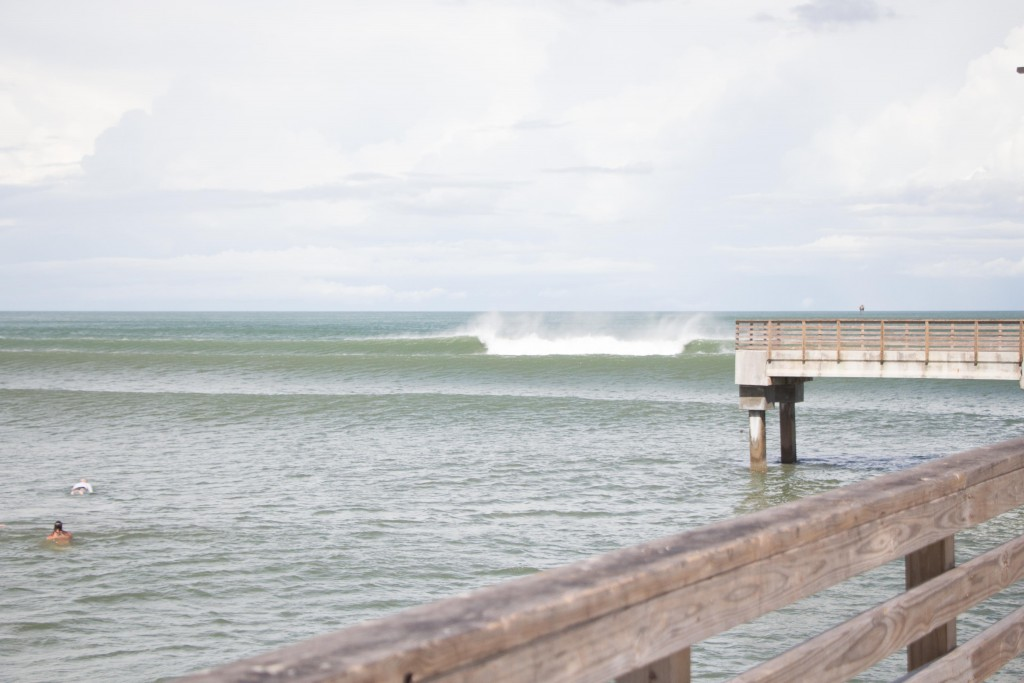 Tropical Storm Bill's Surf