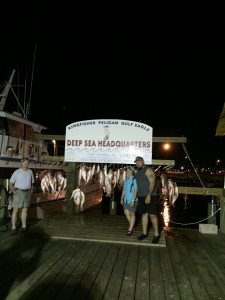 Deep Sea Headquarters Weigh in; Port Aransas TX
