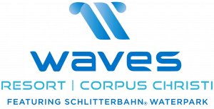 Waves Resort Corpus Christi Featuring Schlitterbahn Water Park Logo