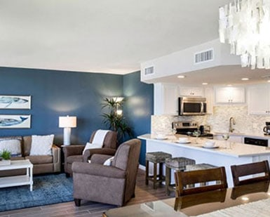 Modern Vacation Rental at Sandpiper Condominiums