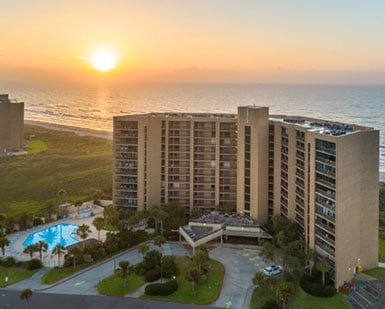 Sunset at Sandpiper Condominiums